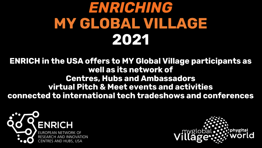 ENRICH FUNDING SUMMIT AT MY GLOBAL VILLAGE FOR CES 2021